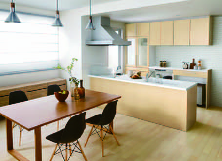 義理の両親との同居をきっかけにキッチンを増設しました
