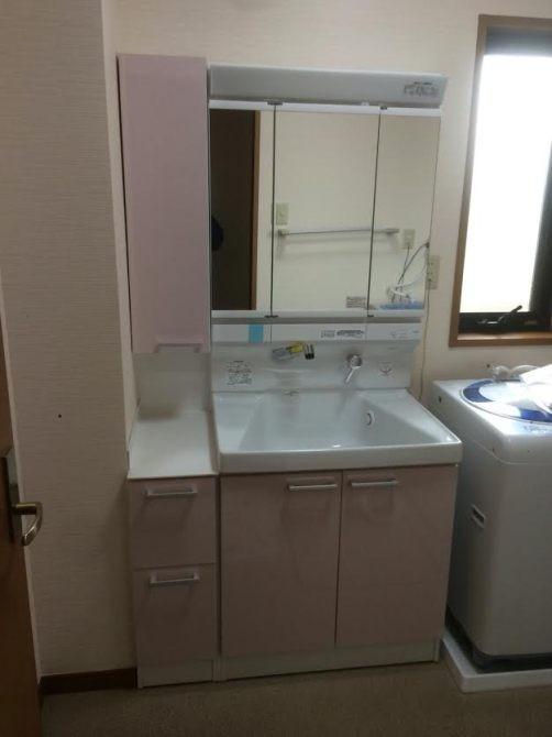 加須市S様邸 洗面台交換工事