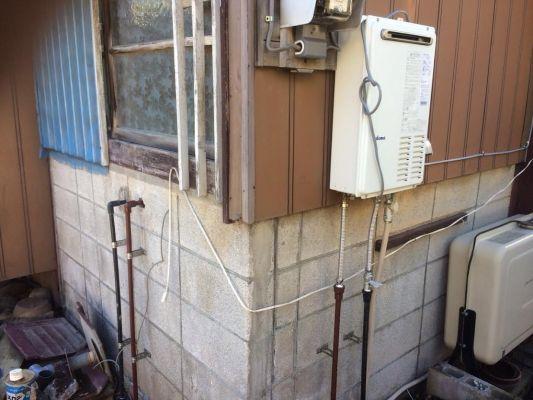 さいたま市H様邸給湯器取付工事
