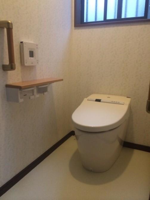 上尾市S様邸トイレ交換工事