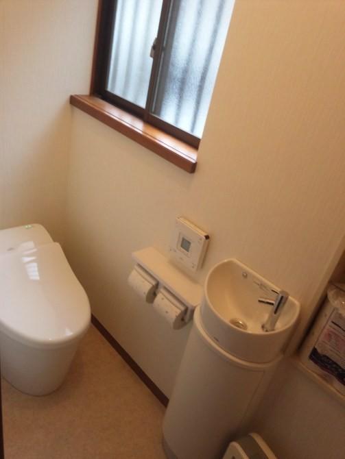 伊奈町H様邸トイレ交換工事