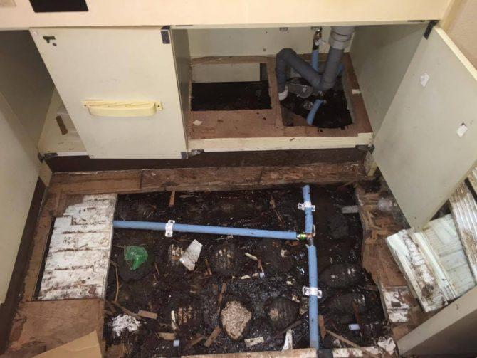 水道管 漏水修理