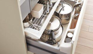 キッチンの収納方法