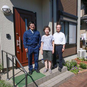 蓮田市S様邸【気に入ってる外壁だからさこそ色を変えずに塗装!!】