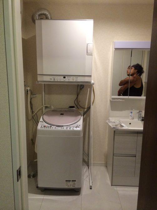 さいたま市M様邸の衣類乾燥機をリンナイ乾太君に交換工事