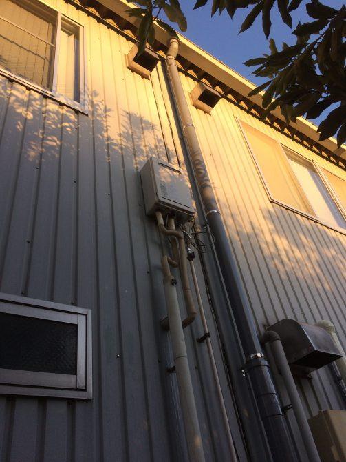 桶川市給湯器交換工事