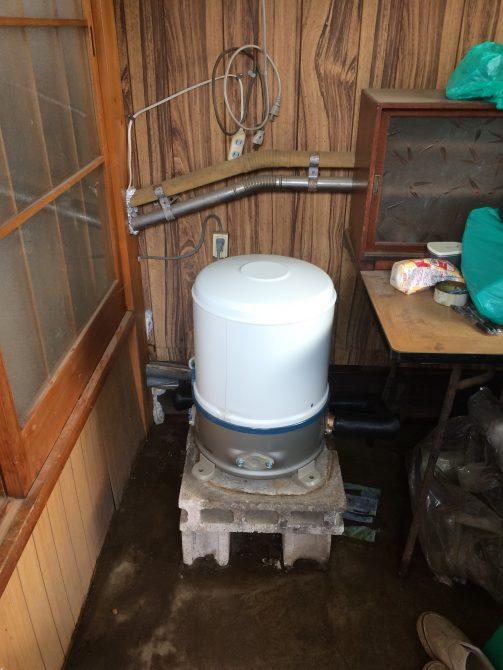 伊奈町家庭用ポンプ交換工事