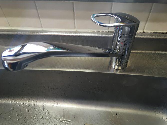 伊奈町K様邸水栓交換