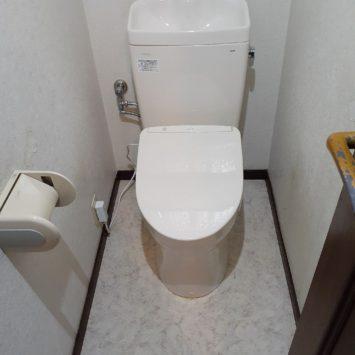 上尾市K様邸トイレ交換工事を致しました。